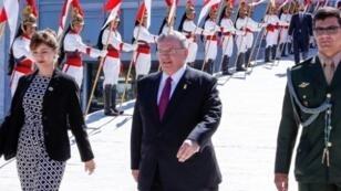 السفير اليوناني كرياكوس أميريدس في برازيليا في 25 أيار/مايو 2016