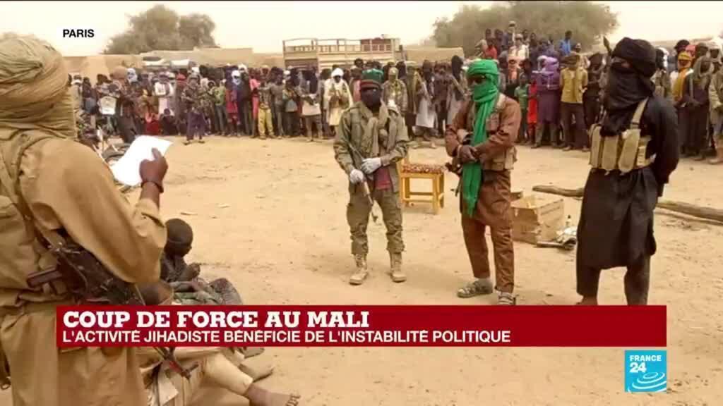 2021-05-25 14:34 Coup de force au Mali : l'activité jihadiste bénéficie de l'instabilité politique