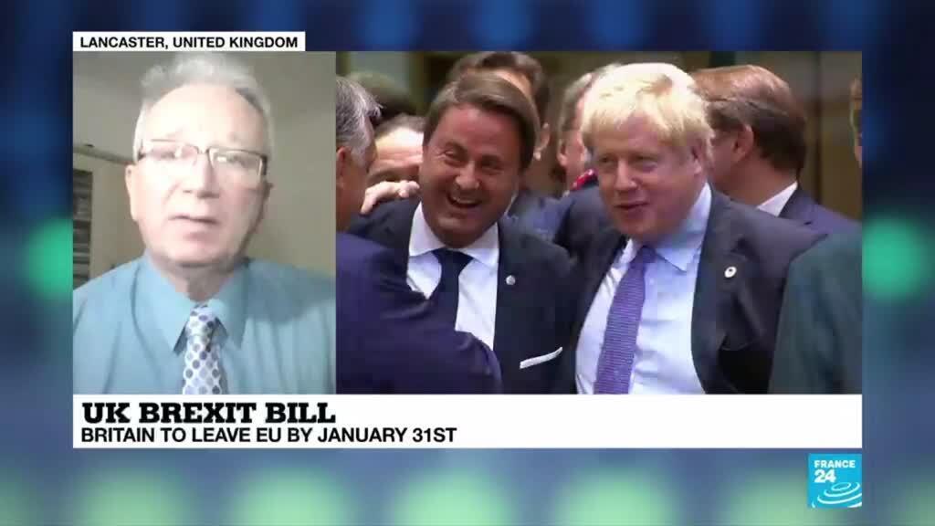 2019-12-20 22:01 UK Brexit bill: New parliament approves PM Johnson's EU divorce deal