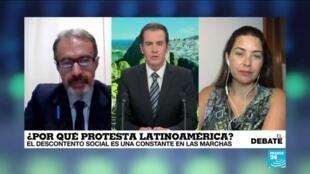 Ola de protestas sacude América Latina