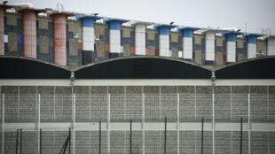 Vue générale de la prison de Fleury-Mérogis, au sud de Paris, où est incarcéré Salah Abdeslam.