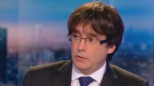 L'ancien président de la Catalogne Carles Puidgemont est à Bruxelles depuis le 31 octobre.