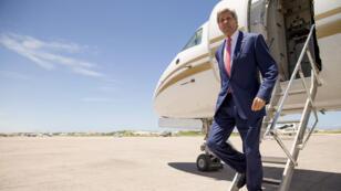 John Kerry s'est rendu le 5 mai 2015 en Somalie pour une visite éclair.