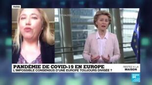 2020-04-09 14:01 Coronavirus : L'impossible consensus d'une Europe toujours divisée ?