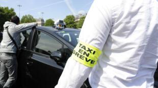 Les chauffeurs de taxi ont appelé à des rassemblements jeudi 25 juin aux abords des aéroports et des gares des villes françaises.