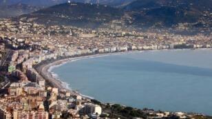 Vue aérienne de la ville de Nice