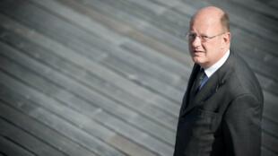 Rémy Pflimlin, tout juste nommé PDG de France Télévisions, en juillet 2010.