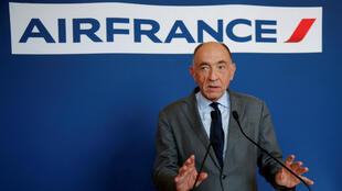Jean-Marc Janaillac, CEO de Air France-KLM Group, anunció en una conferencia de prensa su dimisión para los próximos días. Mayo 4 de 2018.