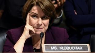 La sénatrice Amy Klobuchar a finalement renoncé à briguer l'investiture démocrate, le 2 mars 2020.