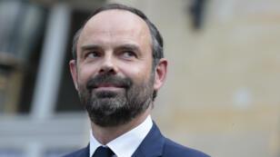 Edouard Philippe, nommé Premier ministre par le président Emmanuel Macron, le 15 mai 2017.