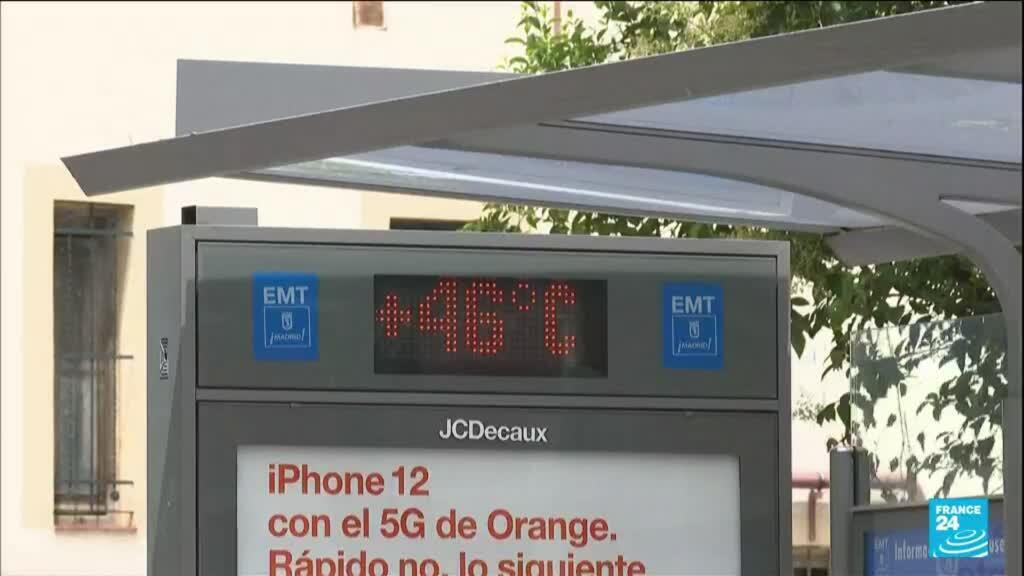 2021-07-12 16:10 En Espagne, une vague de chaleur frappe Madrid et Séville