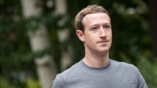 Mark Zuckerberg, cofondateur et PDG de Facebook.