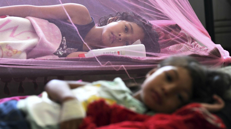 El ingreso masivo de personas infectadas con dengue, tanto de la variante clásica como de la hemorrágica, ha desbordado la capacidad de la red de hospitales públicos de Honduras. La Paz, Honduras. 24/07/2019