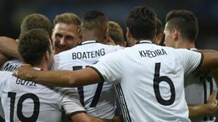 L'Allemagne, championne du monde en titre, n'a pas manqué ses débuts à l'Euro-2016.
