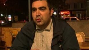 الصحافي الأذربيجاني رحيم نامازوف.