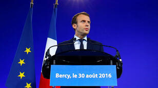 Emmanuel Macron a annoncé sa démission mardi 30 août.