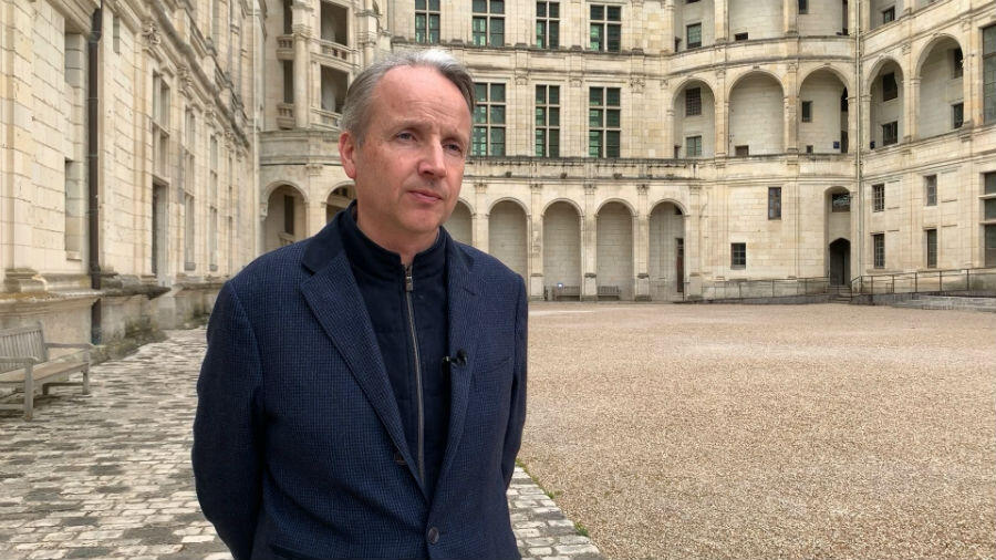 Chambord's director general, Jean d'Haussonville.