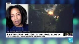 """2020-06-01 16:03 Mort de George Floyd : """"C'est une grande honte pour mon pays"""""""