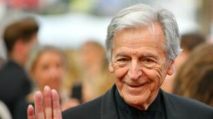 Le réalisateur Costa-Gavras, en mai 2017 au festival de Cannes.