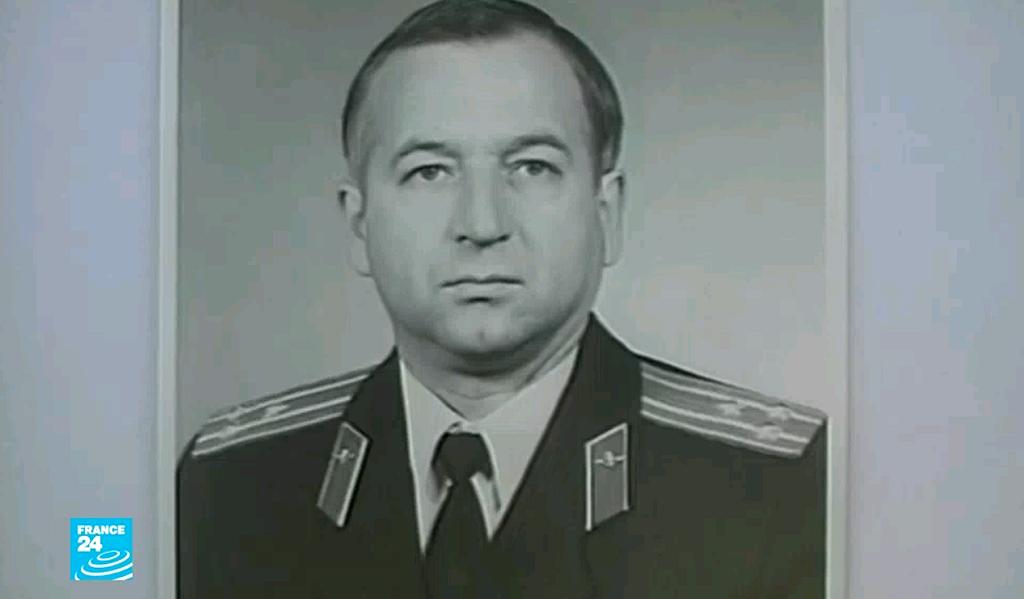 صورة مقتطفة من الفيديو للكولونيل السابق في الاستخبارات العسكرية الروسية والذي عمل لحساب المملكة المتحدة.