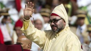 العاهل المغربي محمد السادس.