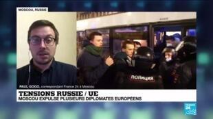 2021-02-05 16:04 Tensions Russie / UE : Moscou expulse plusieurs diplomates européens