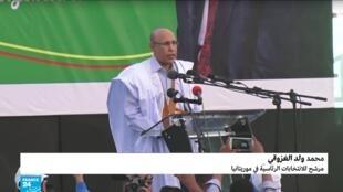 الجنرال الموريتاني السابق محمد ولد الغزواني