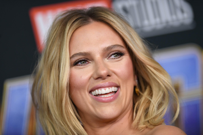 L'actrice Scarlett Johansson à Los Angeles le 22 avril 2019