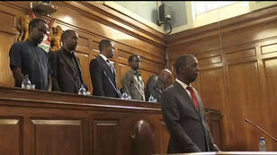 Les magistrats somaliens s'exercent sur des affaires fictives de terrorisme.