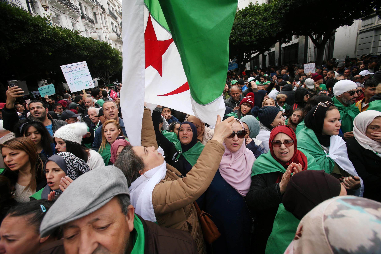 Manifestations en Algérie après l'élection de Tebboune