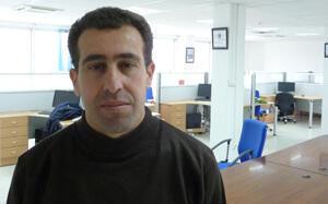 """Hamid Saidani, journaliste du quotidien """"Liberté"""""""