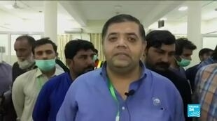 2019-10-31 13:42 Pakistani health officer Dr Amjad talks on the train fire which killed over 70