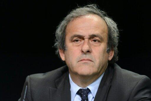 رئيس الاتحاد الأوروبي لكرة القدم ميشال بلاتيني