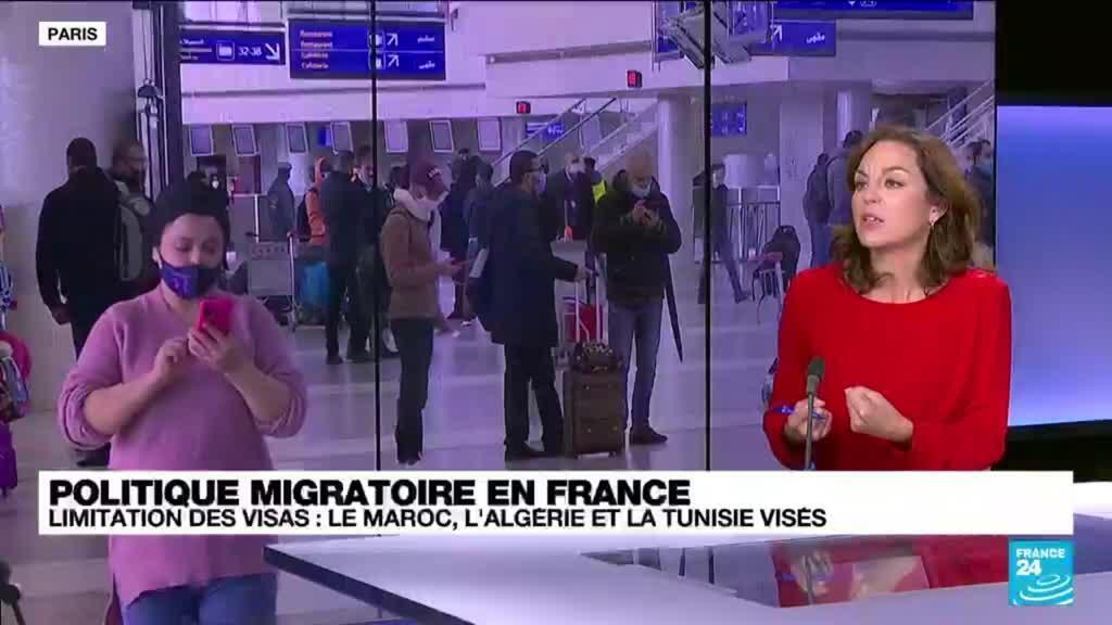 """2021-09-28 13:06 Politique migratoire en France : """"L'idée est de faire pression sur les pays du Maghreb"""""""