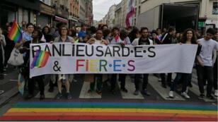 La première Marche des fiertés à Saint-Denis, dimanche 9 juin 2019.