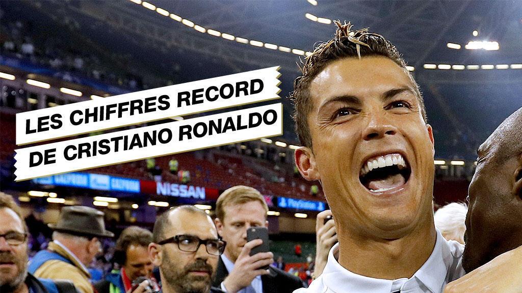 Le Portugais du Real Madrid Cristiano Ronaldo, quintuple Ballon d'Or.