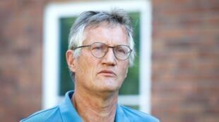 El epidemiólogo Anders Tegnell, de la Agencia de Salud Pública de Suecia, tras una conferencia de prensa sobre el manejo de la pandemia ofrecida el 23 de junio de 2020 en Estocolmo, Suecia.