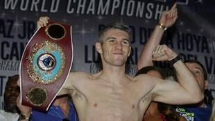 England's Liam Smith, pictured in 2016, will try and recapture the WBO crown