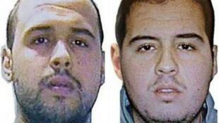 Photomontage obtenu auprès d'Interpol montrant Khaled et Ibrahim El Bakraoui, identifiés comme les kamikazes des attentats Bruxelles.