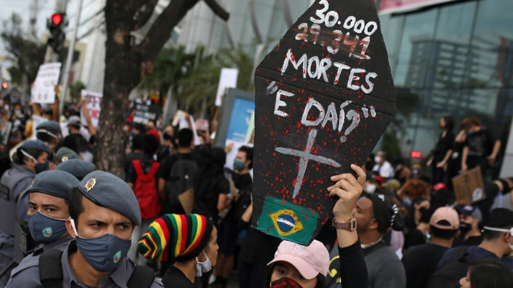 Death toll from Covid-19 surpasses 30,000 in Brazil, Latin America's worst-hit country