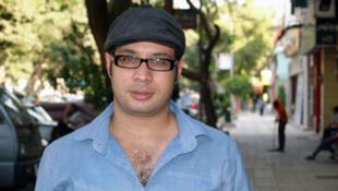 Ahmed Maher, le 25 juillet 2013 au Caire
