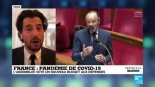 2020-04-17 09:09 Coronavirus en France : L'Assemblée vote un nouveau budget aux dépenses