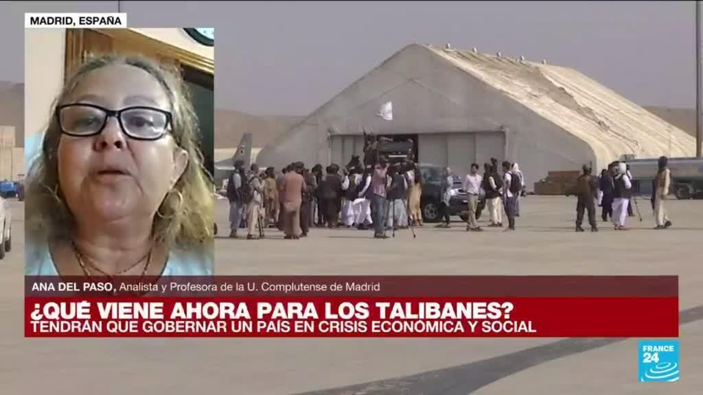"""2021-08-31 19:09 Ana del Paso: """"Nadie se ha creído el lavado de imágen de los talibanes"""""""