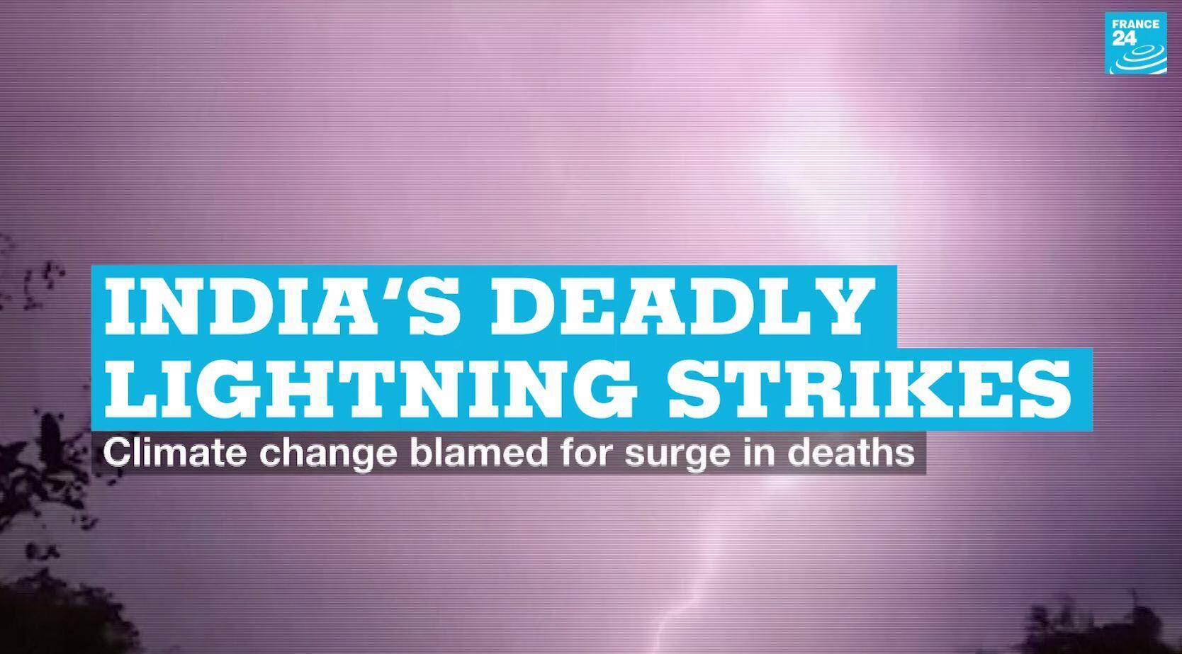Lightning strikes have killed 147 people in the last ten days in the north Indian state of Bihar local authorities said Sunday July 5, 2020.