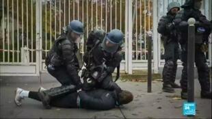 2020-06-09 10:06 Violences policières en France : Christophe Castaner annonce une tolérance 0 face au racisme
