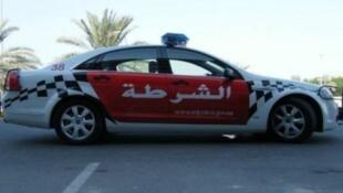-سيارة تابعة لشرطة أبوظبي