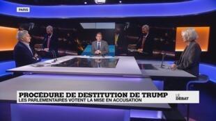 Le débat - Procédure de destitution de Trump