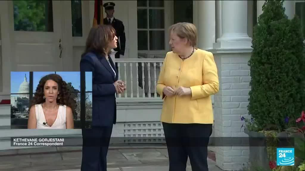 2021-07-15 16:09 Merkel to hold talks with president Biden at White House