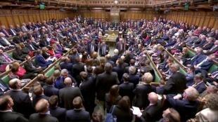 النواب يصوتون في مجلس العموم البريطاني بشأن اتفاق بريكسيت 29 مارس/آذار 2019