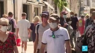 2020-07-24 06:01 Covid-19 en France : contaminations en hausse depuis une semaine